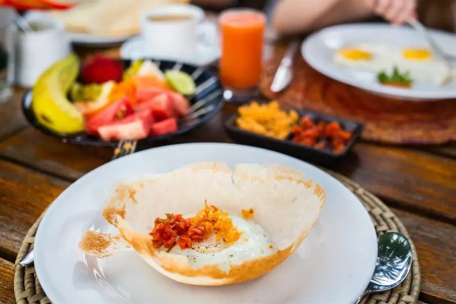 7 Things I Love About Sri Lanka - egg hopper Sri Lanka