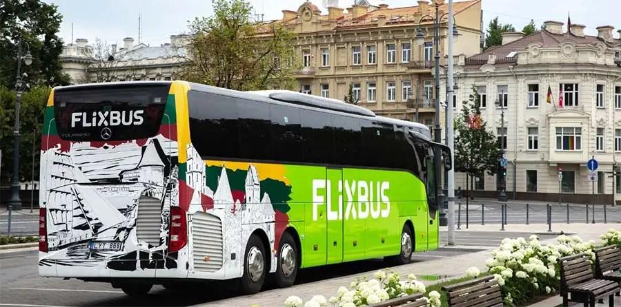 Save money travelling through Europe - Flixbus europe
