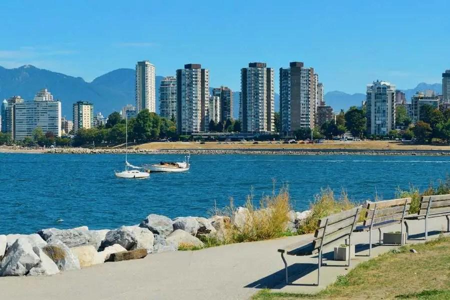 Road stanley park Vancouver