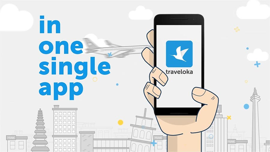 travel apps  - Traveloka app