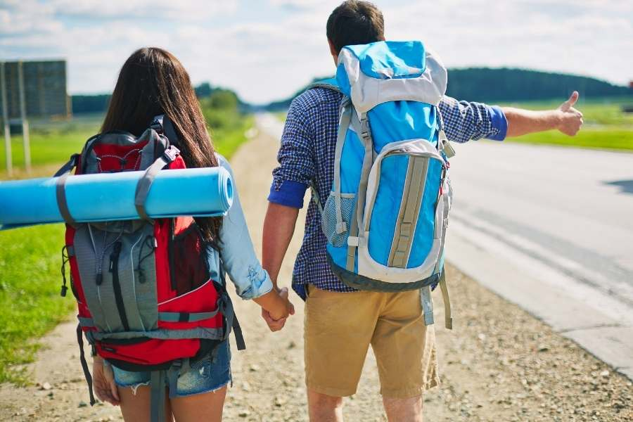 Save money travelling through Europe - hitch hiking