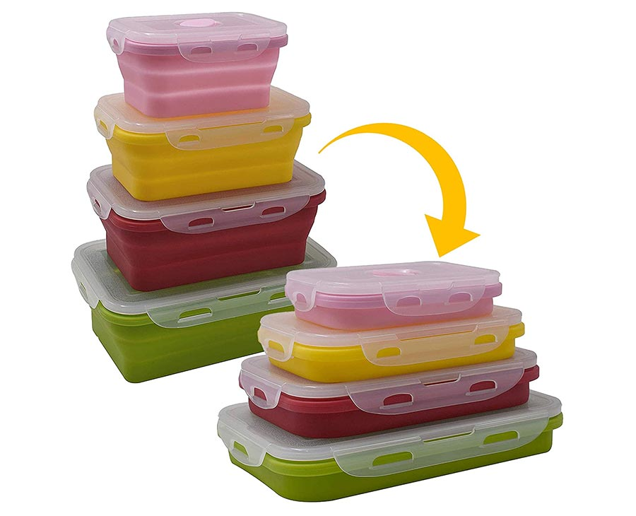 popup food container