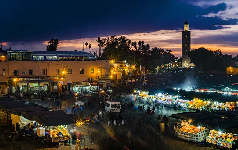 Top 7 Cities For Digital Nomads In Africa - Marrakesh Morocco