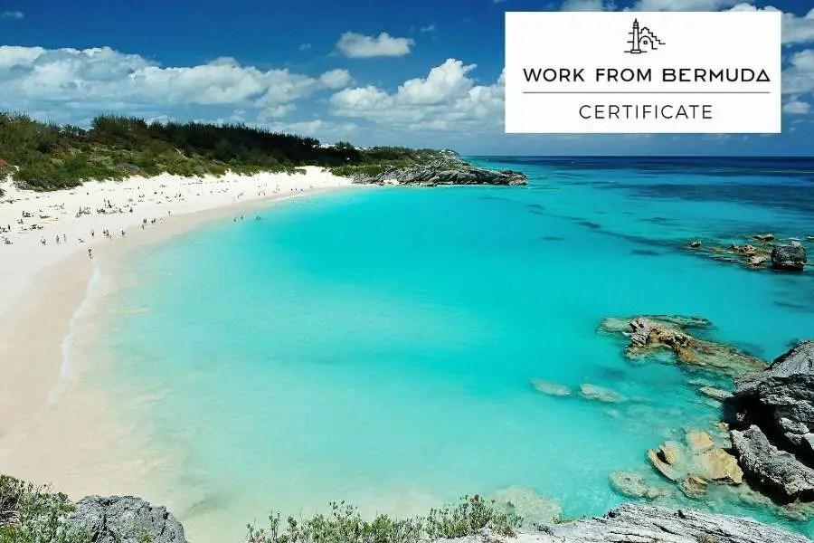 Work From Bermuda Certificate - Digital Nomad Visa for Remote Working