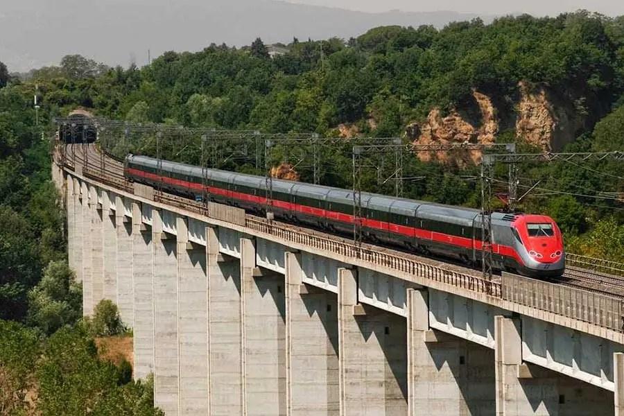 European transport options - Fast Train Italy