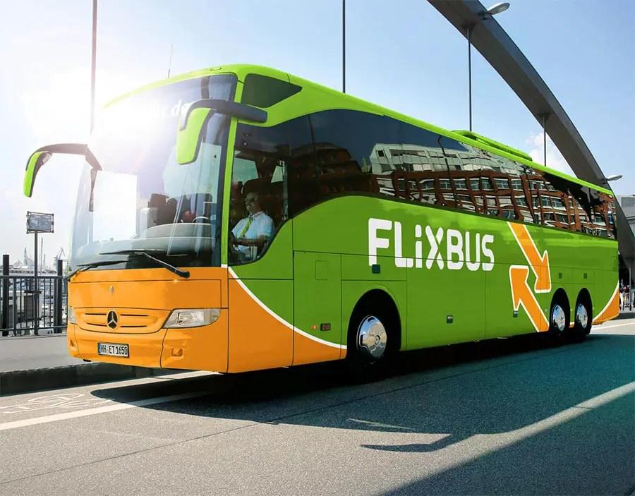 European transport options - Flixbus Europes largets bus operator