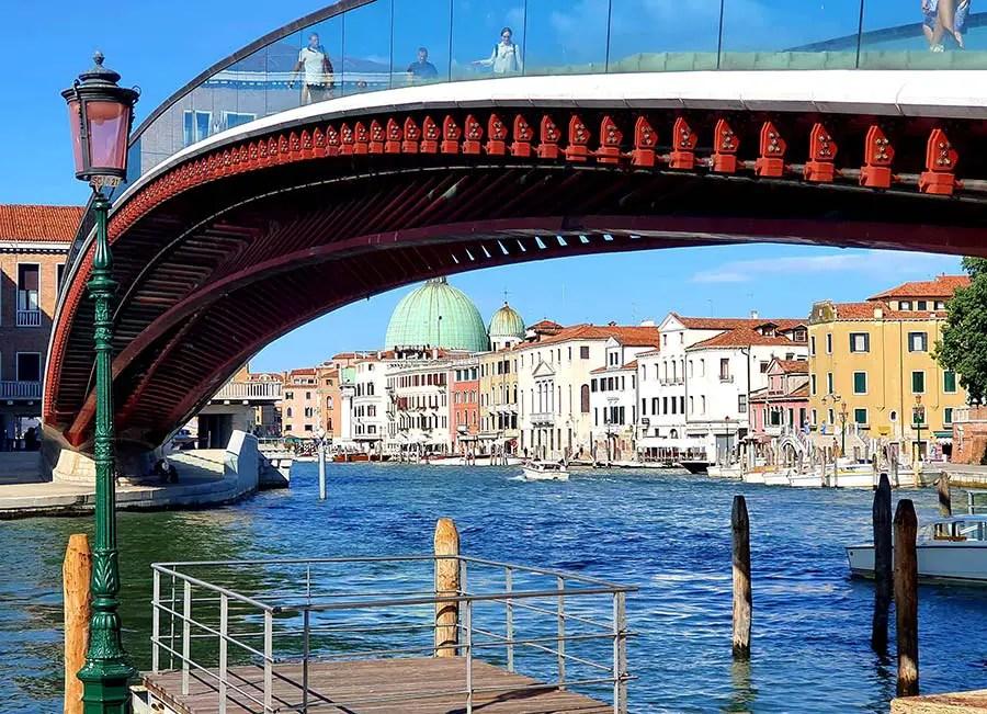 Piazzale Roma Venice Bridge