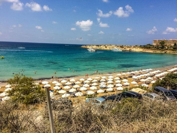 Plaja in Cipru