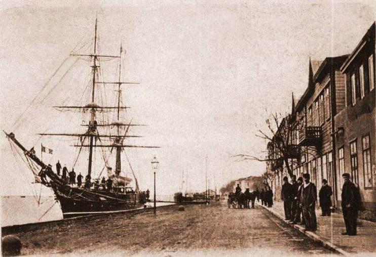 portul vechi din sulina