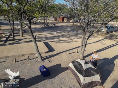 149, Day 257, Halali Campsite, Etosha National Park, Namibia