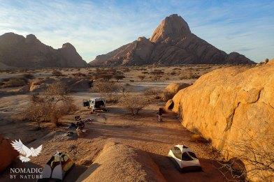 152, Day 260, Campsite 6, Spitzkoppe, Namibia