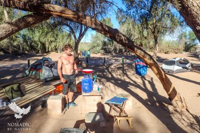157, Day 269, Hobas Campsite, Fish River Canyon, Namibia