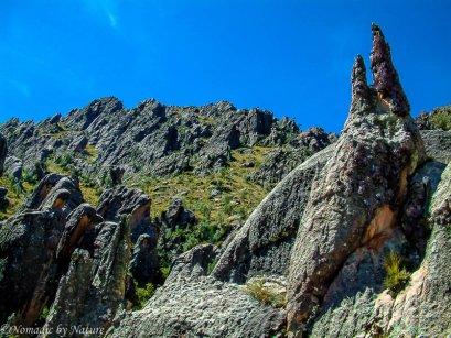 The Steep Spires of the Cordillera de los Frailes