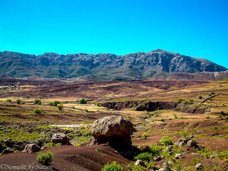 Marca Rumi with the Cordillera de los Frailes in the Background