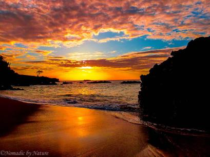 Waimea's Nightly Sunset Show