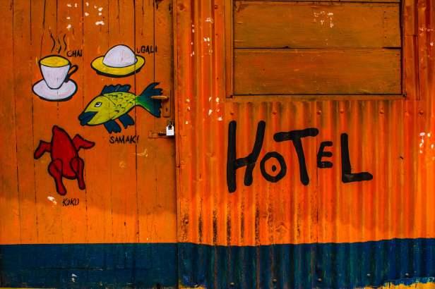 Local Hotel in Kibera
