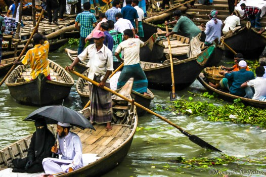 Quiet Happiness in the Bustle of Old Dhaka, Bangladesh