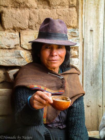 Maraguan Women Offering Chicha