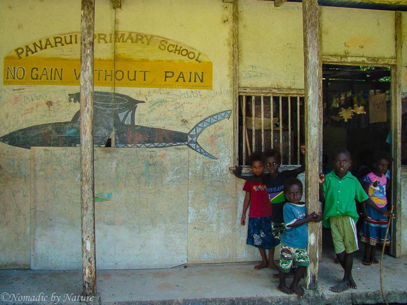 A Local Primary School in Solomon Islands