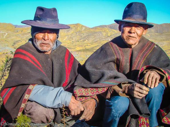 Villagers in the Mountains of Maragua, Bolivia