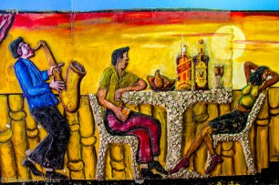 Maputo's Murals in the Red Light DIstrict