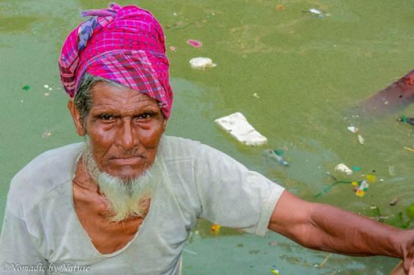 Sadarghat Boatsmen, Old Dhaka, Bangladesh
