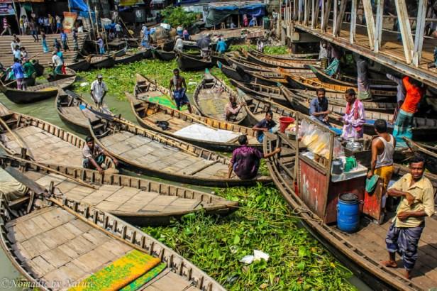 Tea Time at the Sadarghat Boat Terminal, Jam, Old Dhaka, Bangladesh