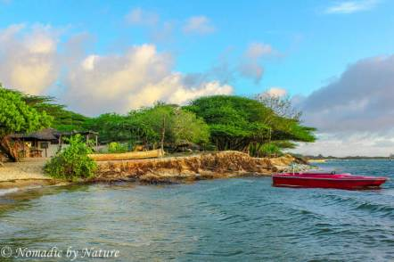 Manda Island Beach Club Parking Lot