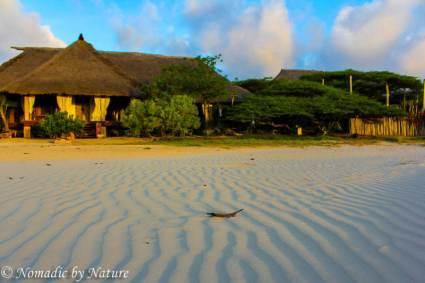 Pristine Beach of Manda Island