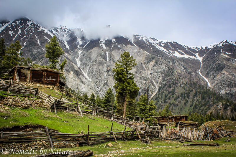 Wood Cottage in Fairy Meadows