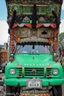 Pakistani Truck Art in Gilgit