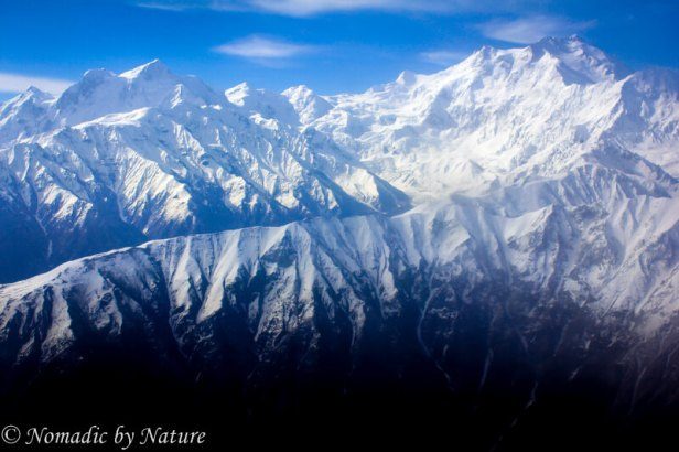 Ariel View of The Himalayas