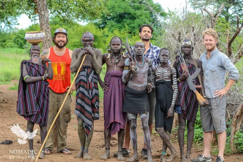 9 Mursi Village, Omo Valley, Southern Ethiopia