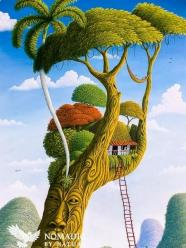 A Surreal Escape to the Tree Tops