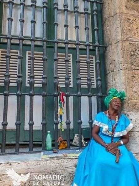 Asleep in the Hot Havana Sun