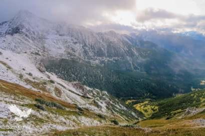 View from Siroke Sedlo, High Tatas, Slovakia
