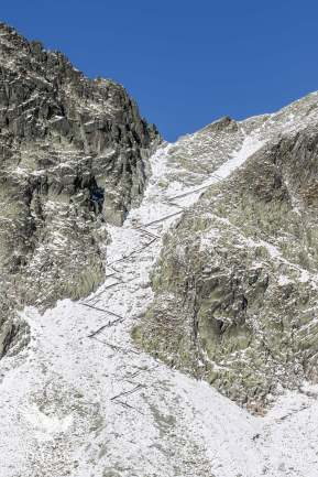 The Switchbacks We Thought We Had to Climb on 2nd Day, High Tatras, Slovakia