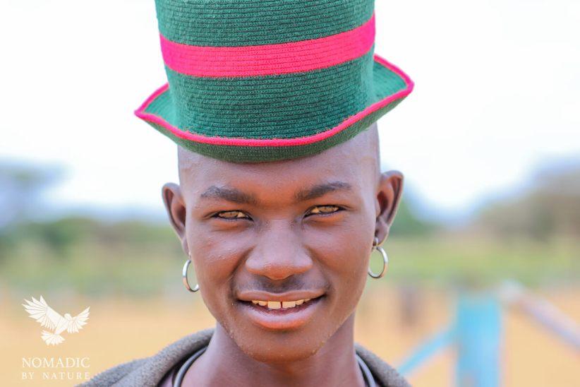 A Young Karamojong Man, Karamoja, Uganda