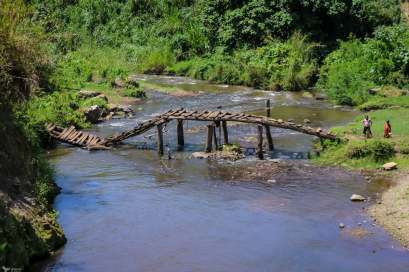 A Broken Bridge, Kasenda Crater Lakes, Uganda