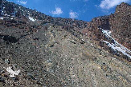 The Western Breach, Mount Kilimanjaro, Tanzania