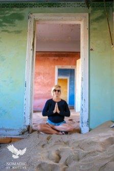 Finding Peace at Kolmanskop Ghost Town, Namibia