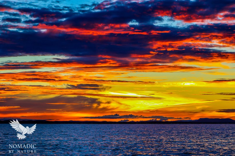 An Epic Sunset Over Lake Turkana, Kenya