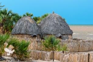 The Thatched Lodges at Eliye Springs, Lake Turkana, Kenya