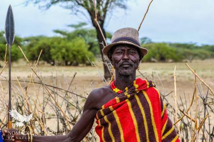 A Proud Turkana Chief, Kenya