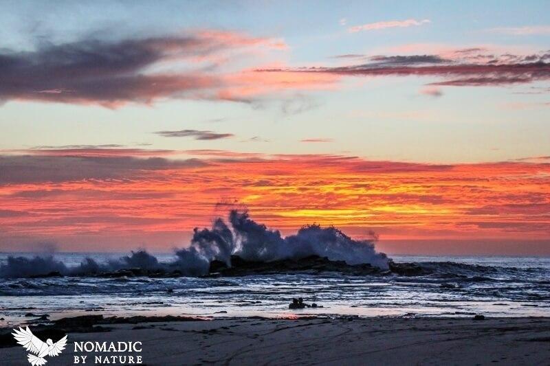 Crashing Sunset at Playa Pelada, Nosara, Costa Rica