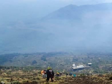 Approaching the Summit, Nyiragongo, Virunga National Park, DR Congo