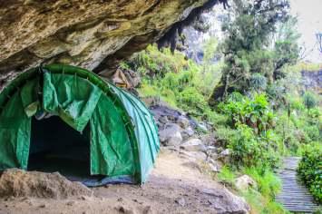Mutinda Camp in the Rwenzori Mountains