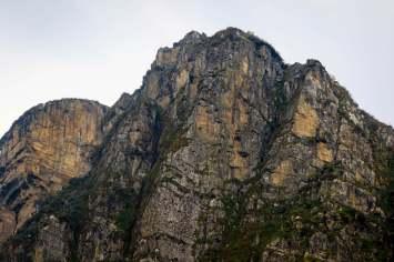 An Exposed Peak Above Mutinda Camp in the Rwenzori Mountains