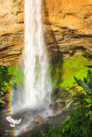 The Crashing Rainbow of Sipi Falls, Uganda