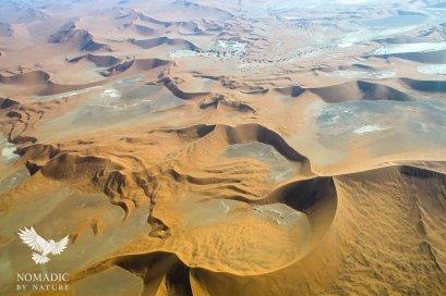 Dunes and Vleis in Sossusvlei, Namibia